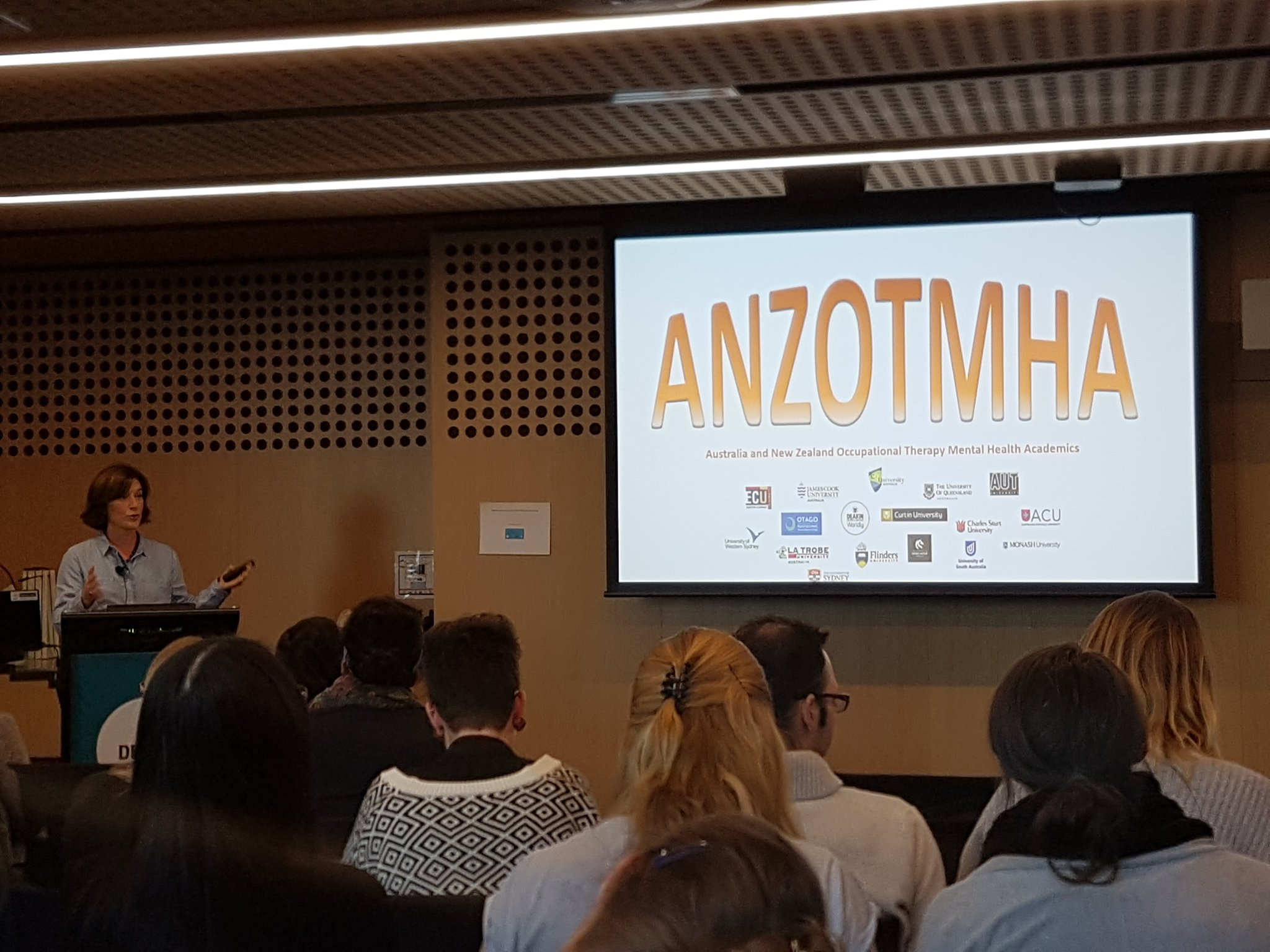 #mhotsymp2017 Ass. Prof. Genevieve Pepin spreading the word about ANZOTMHA https://t.co/ozN3sObxo0