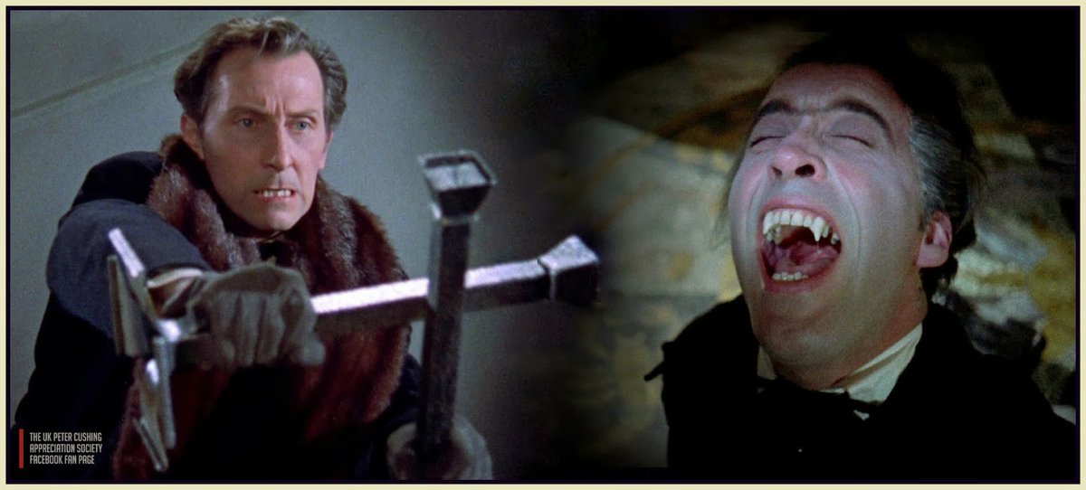 Image result for dracula v. van helsing peter cushing