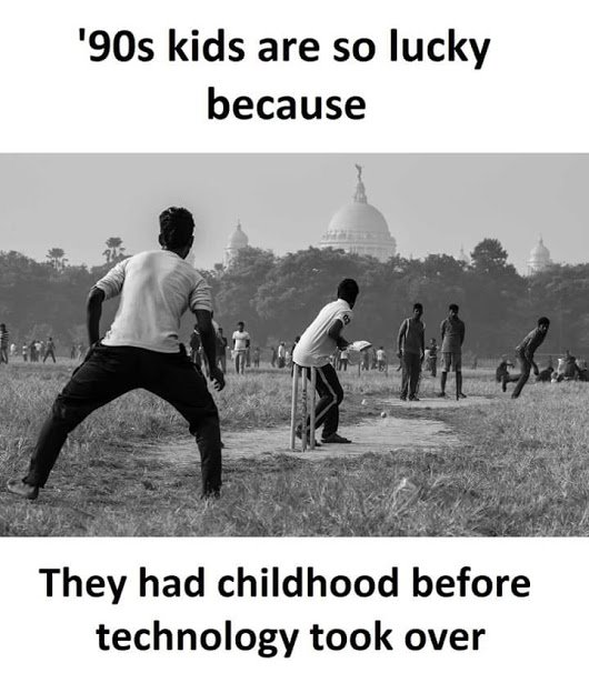 &#39;90s kids are so lucky because they had childhood before #Technology took Over. <br>http://pic.twitter.com/gWsvcNTDcF