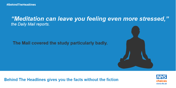 Does meditation carry a risk of harmful side effects? #BehindTheHeadlines takes a closer look: https://t.co/F8nFxn70Jd
