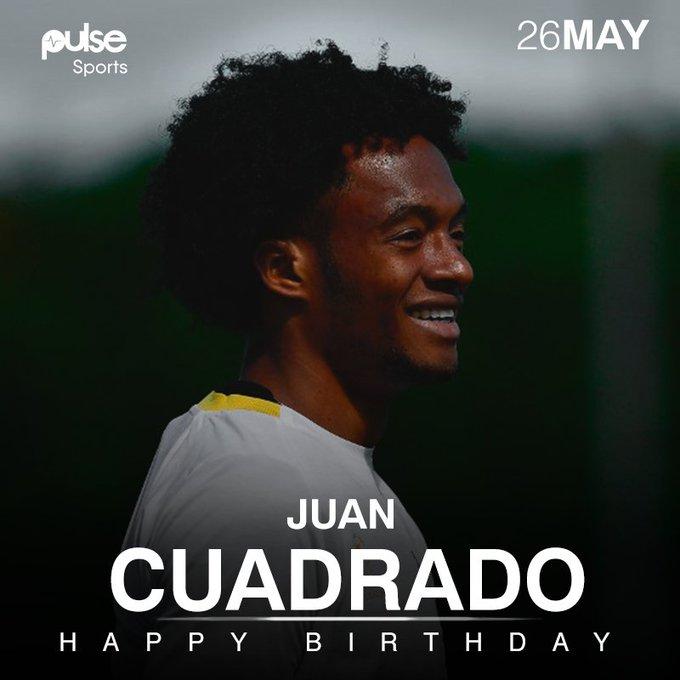 Happy Birthday, Juan Guillermo Cuadrado