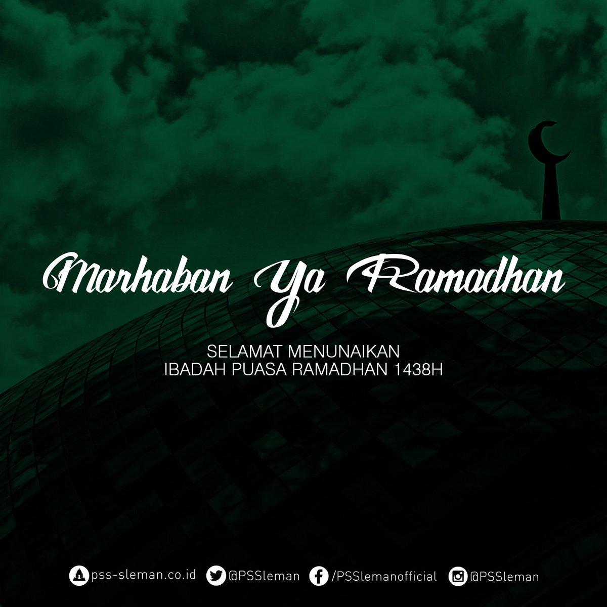 Selamat menunaikan ibadah puasa Ramadhan 1438H. #Ramadhan https://t.co...