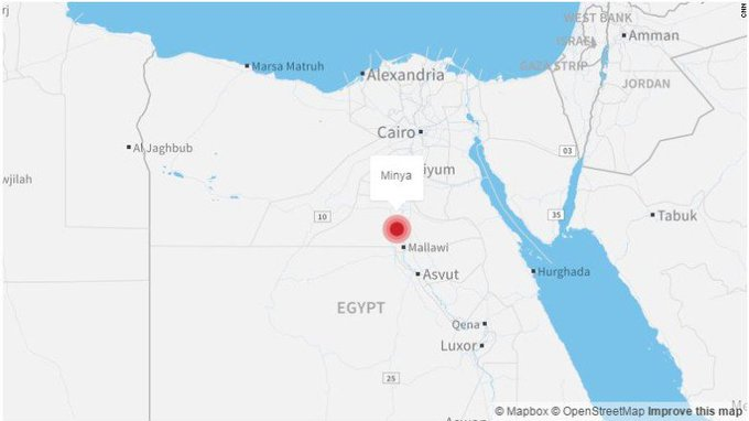 Gunmen in Egypt open fire on a bus carrying Coptic Christians, killing 23, according to state-run media https://t.co/11JLofGlK9
