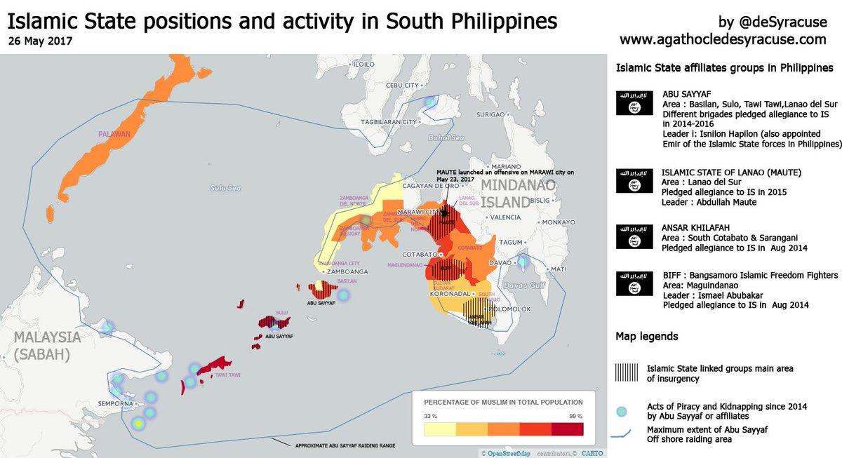 Agathocle Desyracuse On Twitter Philippines New Map Of Islamic