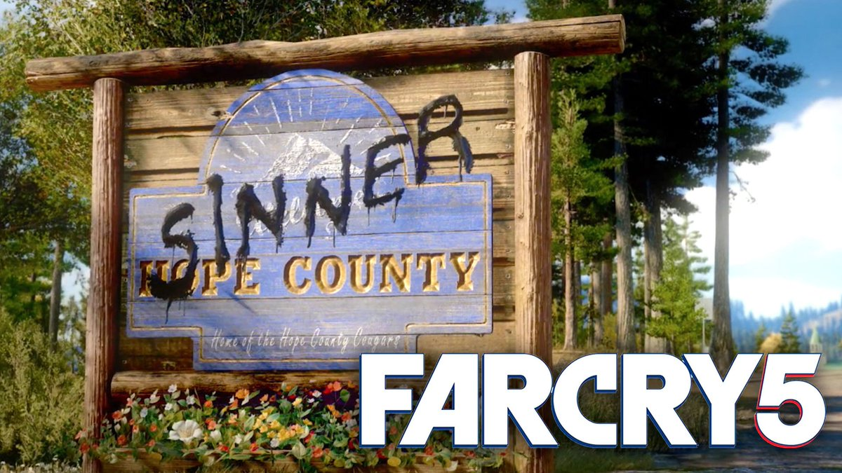 #FarCry5's trailer just dropped... Welcome to 'Sinner' County https://...