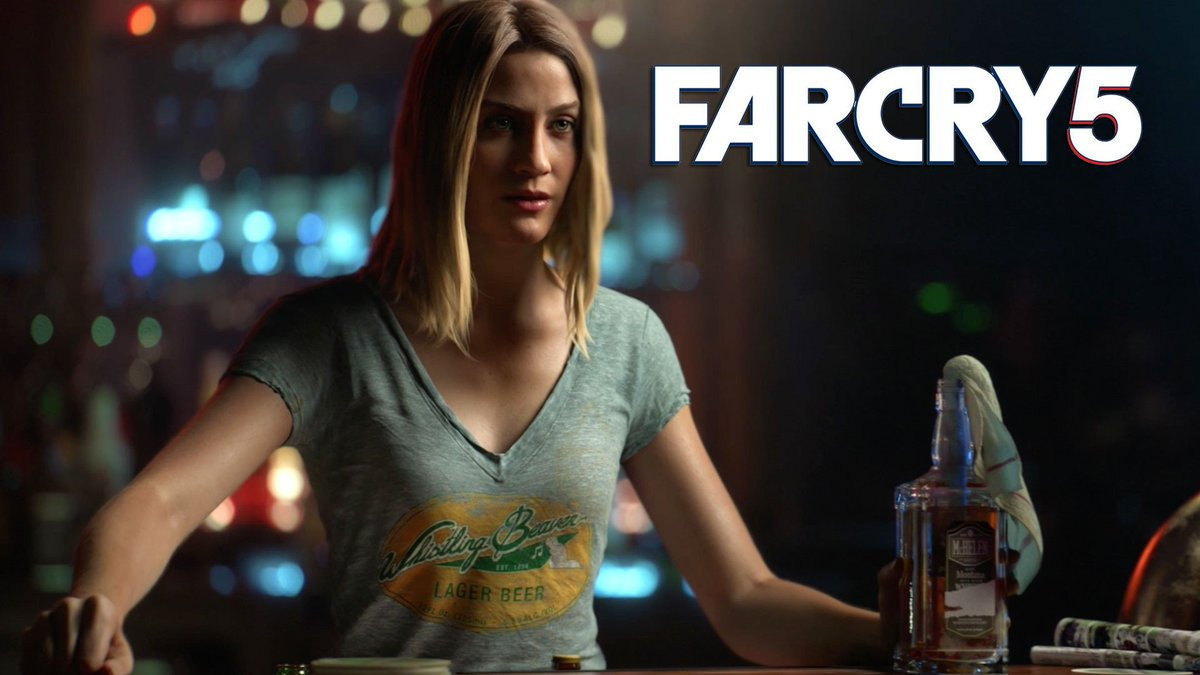 'F*&k no! This place is ours'... Meet Mary May in #FarCry5 https:/...