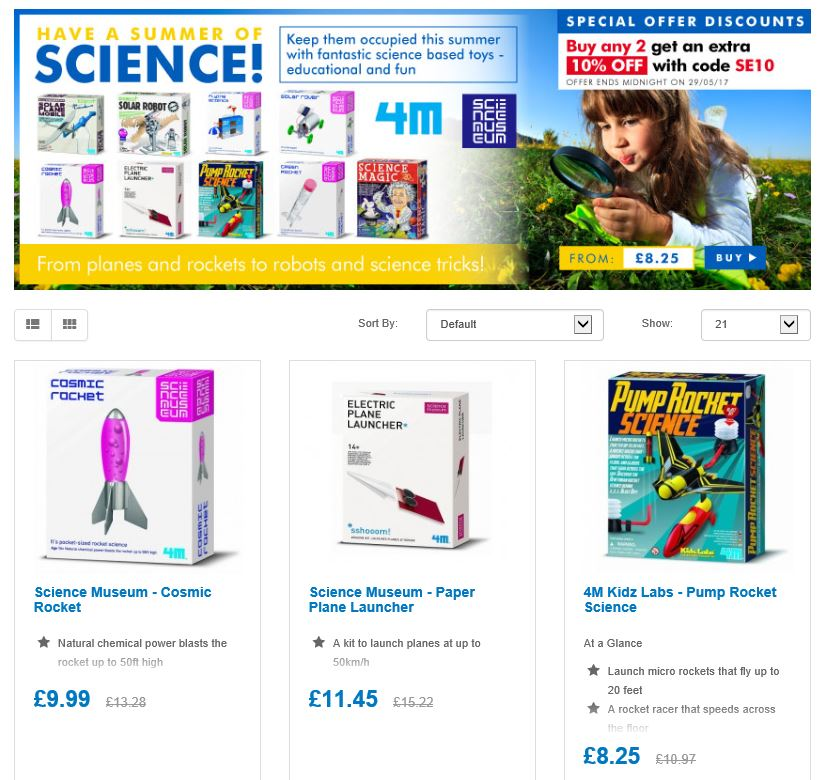 Save on Summer Sciences 4 a happy Summer  http:// ow.ly/SD4J30c2sE4  &nbsp;    #RT #Follow #Win @UK_Topdeals #MultiBuy any 2 Extra 10% off @sciencemuseum<br>http://pic.twitter.com/HvtXG2xBaB