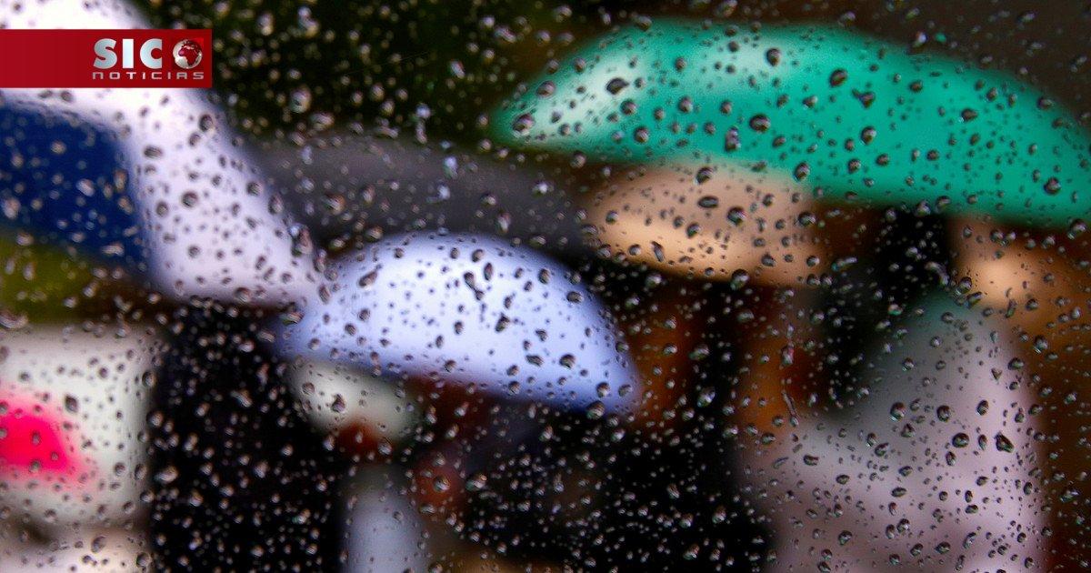 Nove distritos sob aviso amarelo devido à chuva https://t.co/HijHf0ryM...