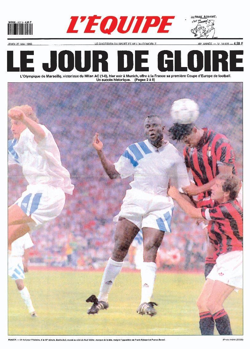 @OM_Officiel #AJamaisLesPremiers #26Mai1993 #TeamOM #OM #ChampionsLeague  Joyeux anniversaire à nous-même ! pic.twitter.com/C9SeL572Aq