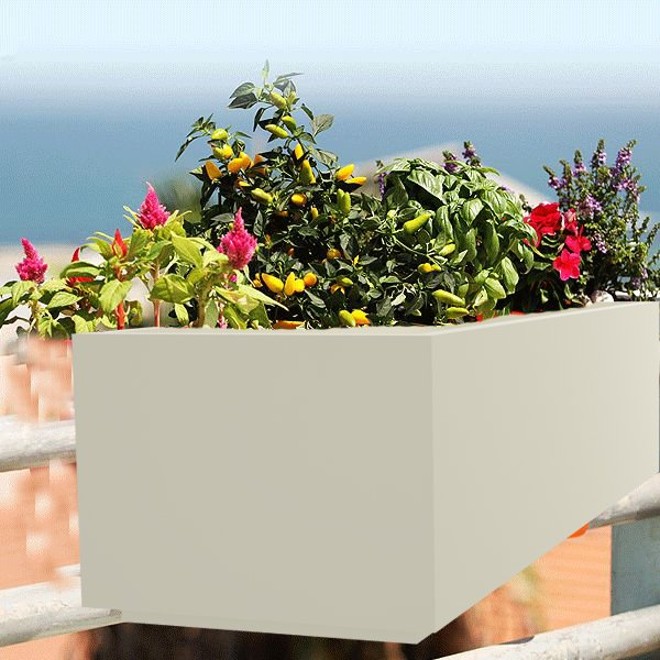#Balcony Rail #Planters are one of the best ways to beautify your balcony  http://www. yuccabeitalia.com  &nbsp;   Call:8586040303 #HangingwallPlanters #Pots<br>http://pic.twitter.com/Smx1JBrUTN