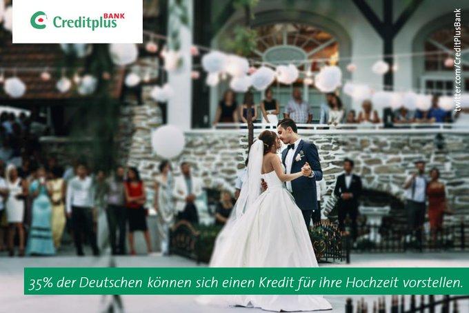 Hochzeits-#Umfrage 2017: 35 % der Befragten können sich einen Kredit für ihre #Hochzeit vorstellen. https://t.co/hAIPX6885u