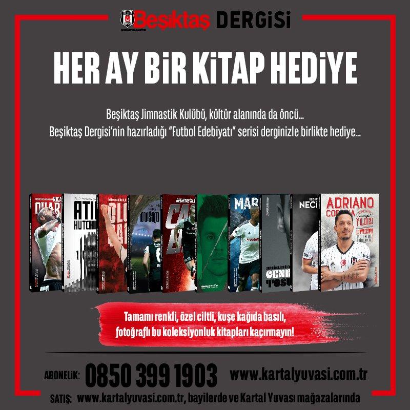 #BeşiktaşDergisi #Beşiktaş Abonelik: 0850 399 1903   https://www. kartalyuvasi.com.tr/urunler/ev-ofi s/dergi/besiktas-dergisi &nbsp; … <br>http://pic.twitter.com/FDAaHPgwyL