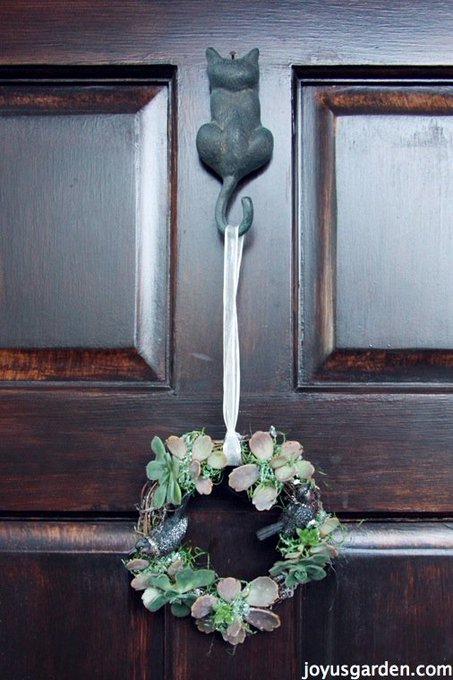 An Easy To Create Succulent Vine Wreath -