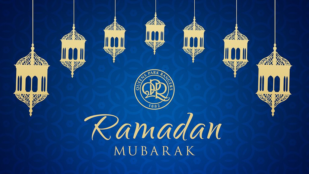 💙 #RamadanMubarak  #QPR sends best wishes to all our Muslim supporters...