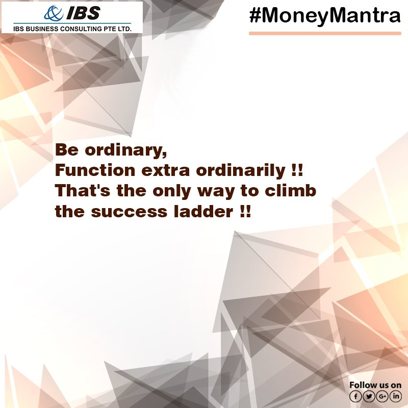 #Business execution should be at accelerated speed towards success.  http://www. consultibs.sg  &nbsp;   #Services #MoneyMantra #Advisers #IBS #Singapore<br>http://pic.twitter.com/oOVTa6XhZJ