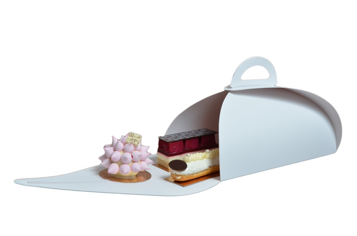 We design &amp; manufacture #patisserie #packaging, perfect for takeaway #afternoon #teas #entremets and #cupcakes.<br>http://pic.twitter.com/pDkeIlFVGZ
