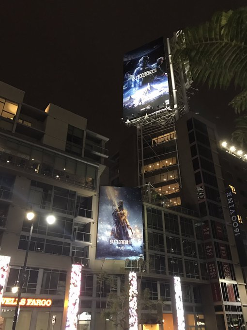 EA taking over LA billboard by billboard... #Battlefront2 &amp; #Battlefield1 everywhere!  EA Play tickets are FREE btw:  https:// eaplay17.fishsoftware.com/public/  &nbsp;  <br>http://pic.twitter.com/Sc2RATxmSE