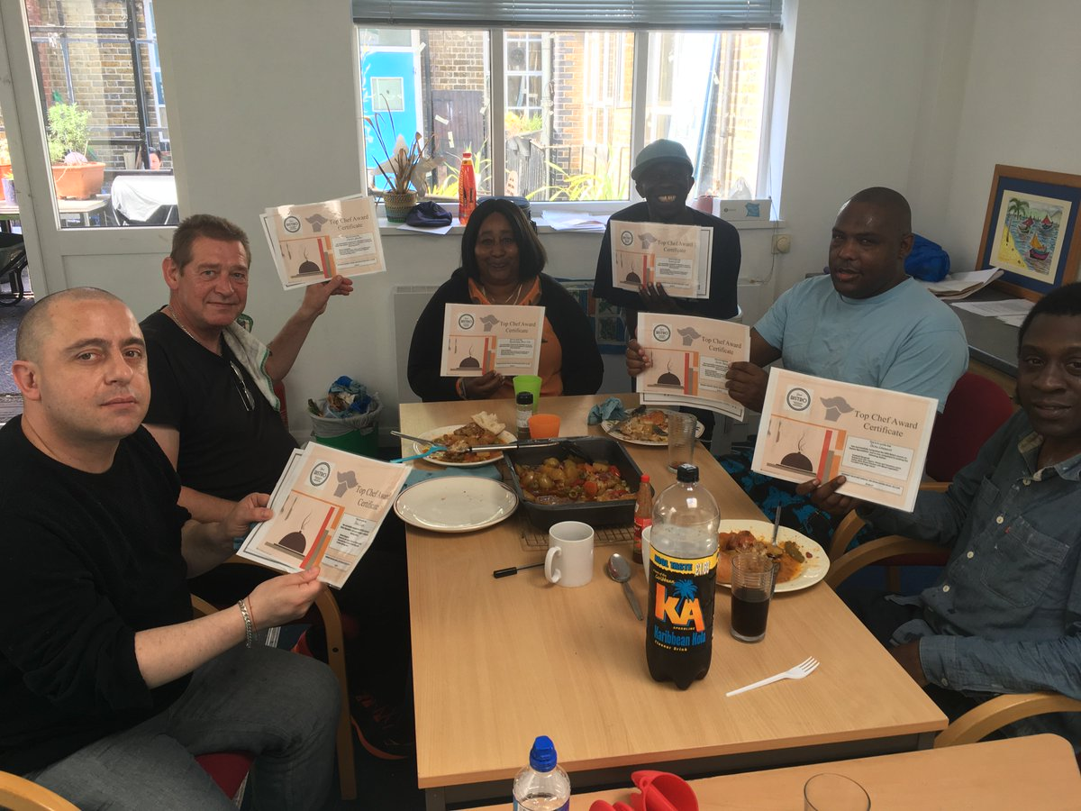 #very #proud of our #haringey #clients #welldone for completing a 5 week #italian #cooking #course #FridayFeeling @StMungos @ShineHaringey<br>http://pic.twitter.com/YROvVSglui