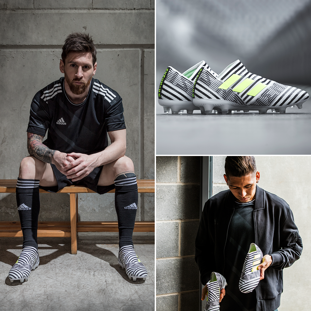 d54b728b3ee8 adidas release new nemeziz boots to be worn by leo messi renato sanches and  roberto firmino