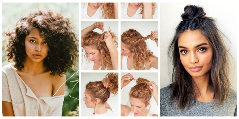 9 no-heat hairstyles that are *super* popular on @Pinterest: https://t.co/sf4Fc77NJY https://t.co/TdwwV7sGVy