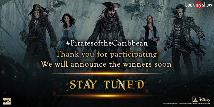 Stay Tuned...  #piratesofthecaribbean5 #PiratesoftheCaribbean #POTC #ContestAlert #Contest<br>http://pic.twitter.com/bI682kNiM7