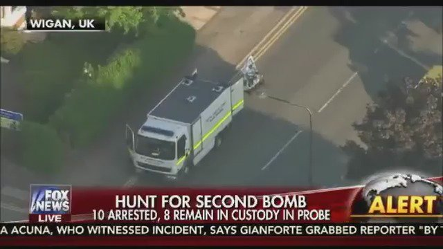 FOX NEWS ALERT: Hunt for terror cell connected to Manchester bombing intensifies in UK