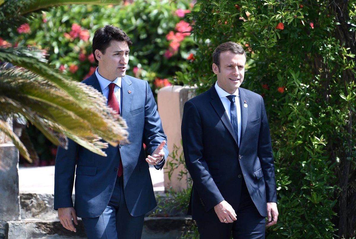 Emmanuel Macron Wedding.Tessa On Twitter Apparently Justin Trudeau And Emmanuel Macron