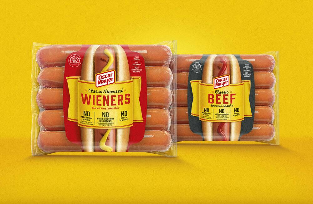 Thanks @thelogocreative for featuring our #OscarMayer Hot Dogs #redesign!