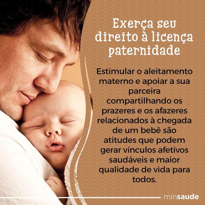 Pai, participe de todas as etapas da vida do seu filho.