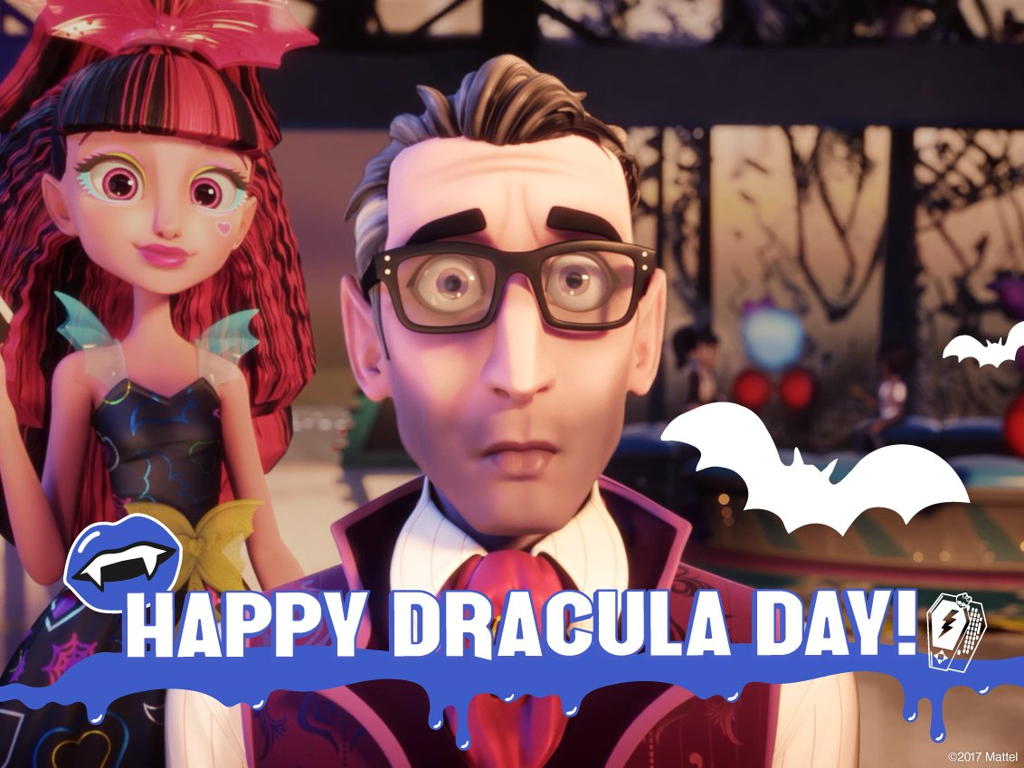 We can't imagine #MonsterHigh without this fangtastic professor &...