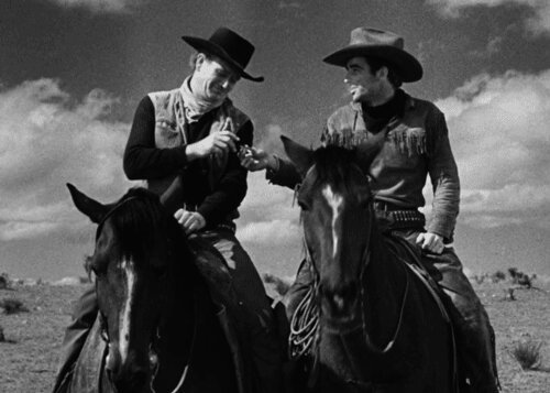 Dunson: &#39;&#39;Matt, I&#39;m goin&#39; to Missouri with every steer, cow and bull that I can lay my hands on&#39;&#39;. #JohnWayne  RED RIVER. (By #HowardHawks)<br>http://pic.twitter.com/vHyeubM8D1