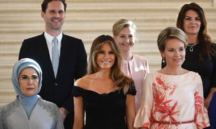 'Primeiro-marido' gay faz sucesso em foto com primeiras-damas de líderes da Otan https://t.co/F3RMI4zLtg