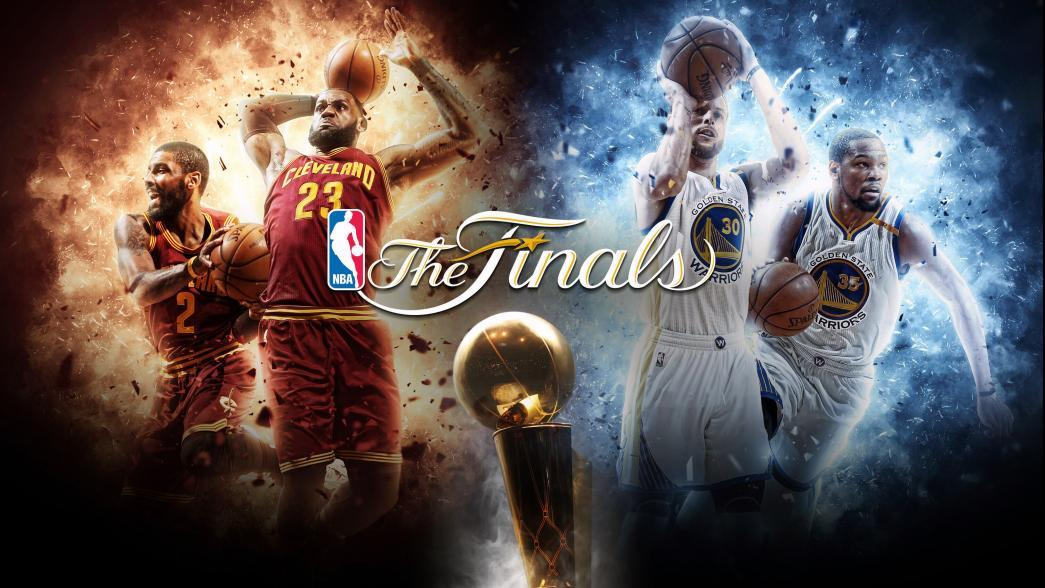 The 2017 #NBAFinals between the @Cavs and @Warriors tips off 9pm/et on...