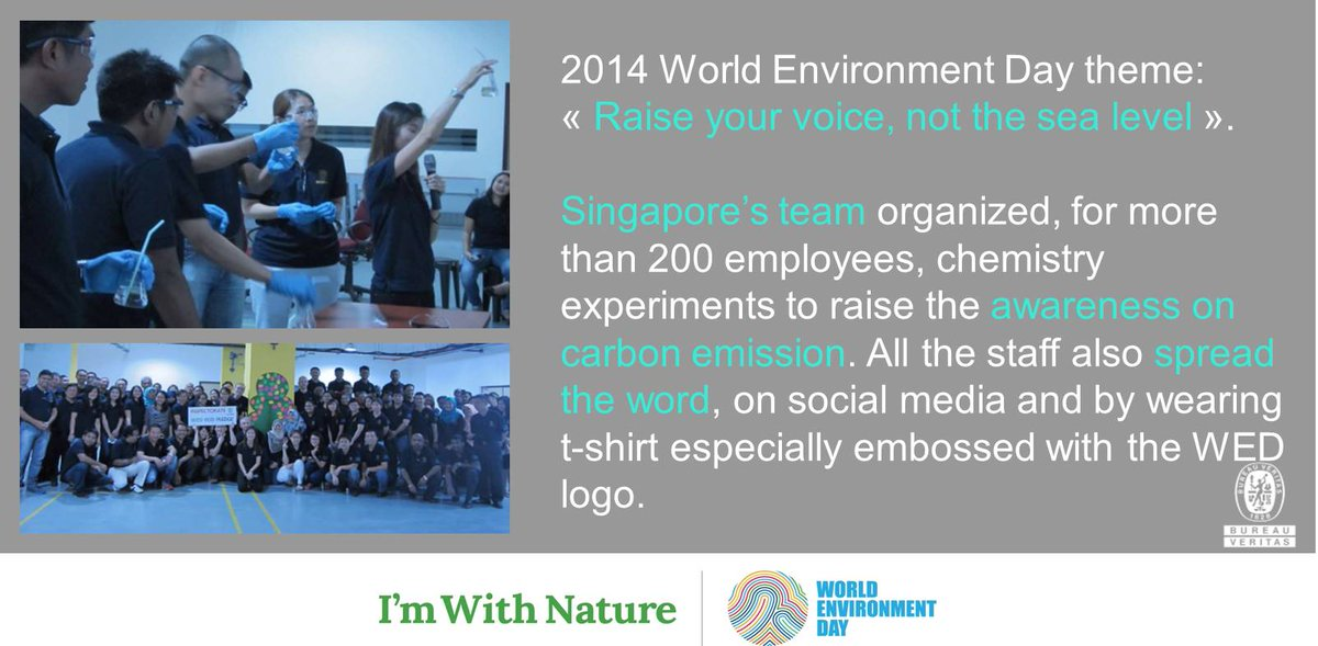 Bureau Veritas On Twitter For The World Environment Day 2014 Our