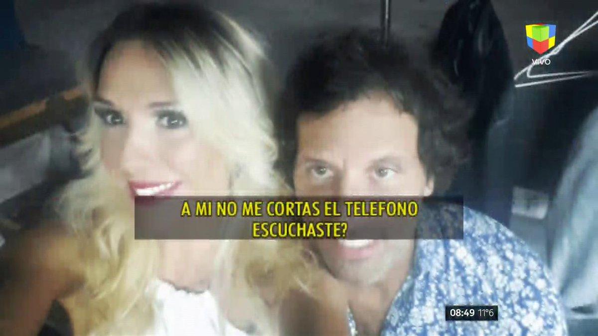 El escandaloso audio de Laura Miller y su ex, Nicolás Traut: '¡En dónd...