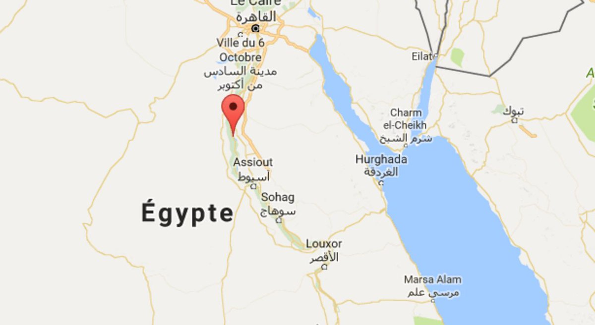Au moins 24 morts en #Egyptedans l'attaque d'un bus transportant des chrétiens coptes 😞 👉 https://t.co/WcBpiU5wFr