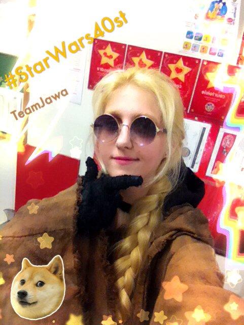 Let&#39;s go in #DisneyStore BelleEpine with @501stFrench &amp; @rebellegionfr #Jawa #StarWarsDay #StarWars40stAnniversary<br>http://pic.twitter.com/W6BtCQwUCf