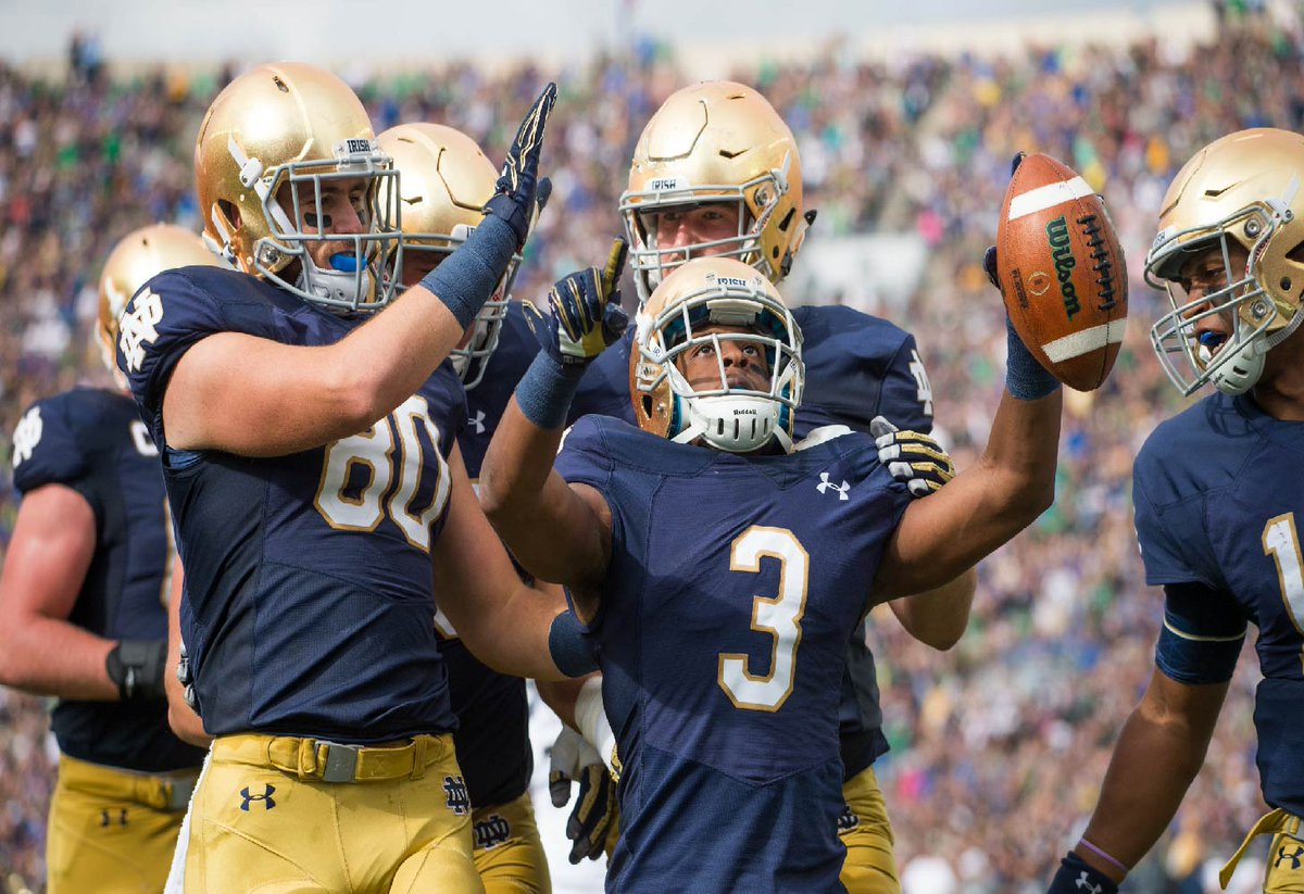 #IWakeUpBecause... @NDFootball is another week closer!  #FridayFeeling...