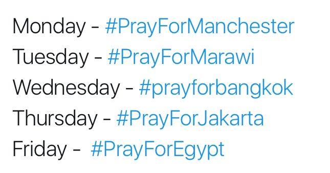Worst week since 2001. #PrayForEgypt