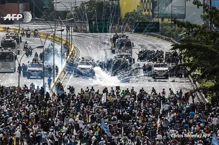 #LoDijoLaFiscal: El deber de la FANB es defender al pueblo, no asesina...
