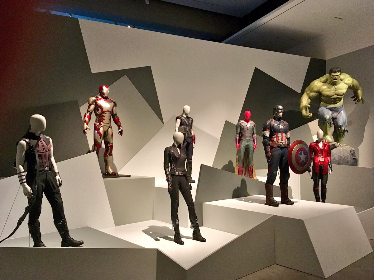 D Printing Exhibition Brisbane : Mcu news tweets on twitter quot the costumes of marvel