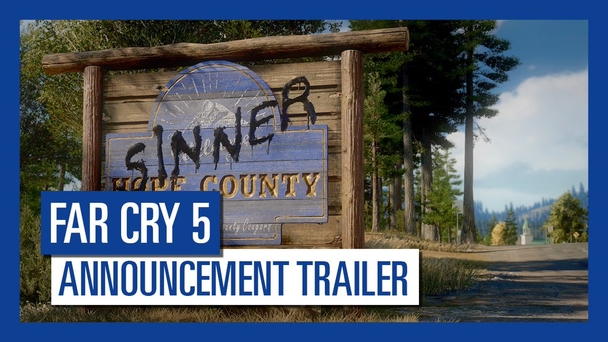 Faith, freedom & firearms... Welcome to Hope County >> https...