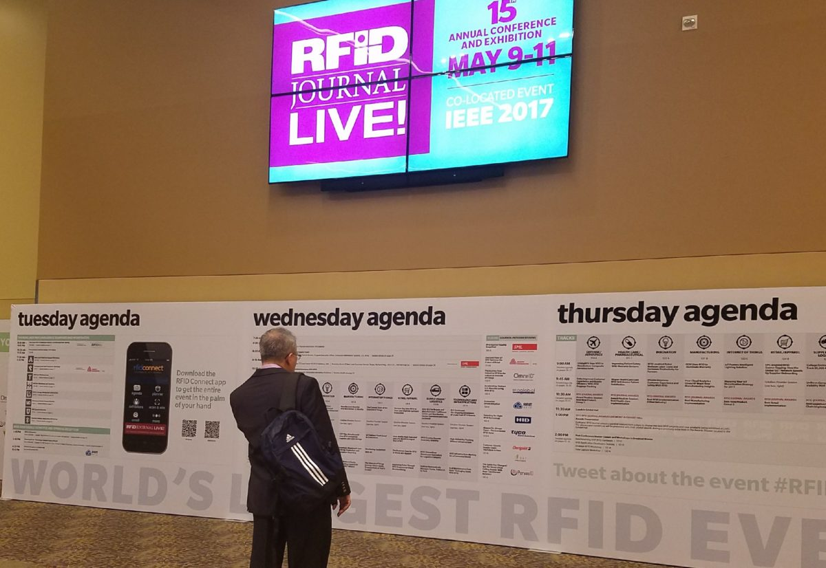 #RFID tech has come a long way in the past 5 years! Check out our key takeaways from #RFIDLIVE:  http:// ow.ly/CLGb30bYJiP  &nbsp;   @RFIDJournal<br>http://pic.twitter.com/XmyJMV1nJP