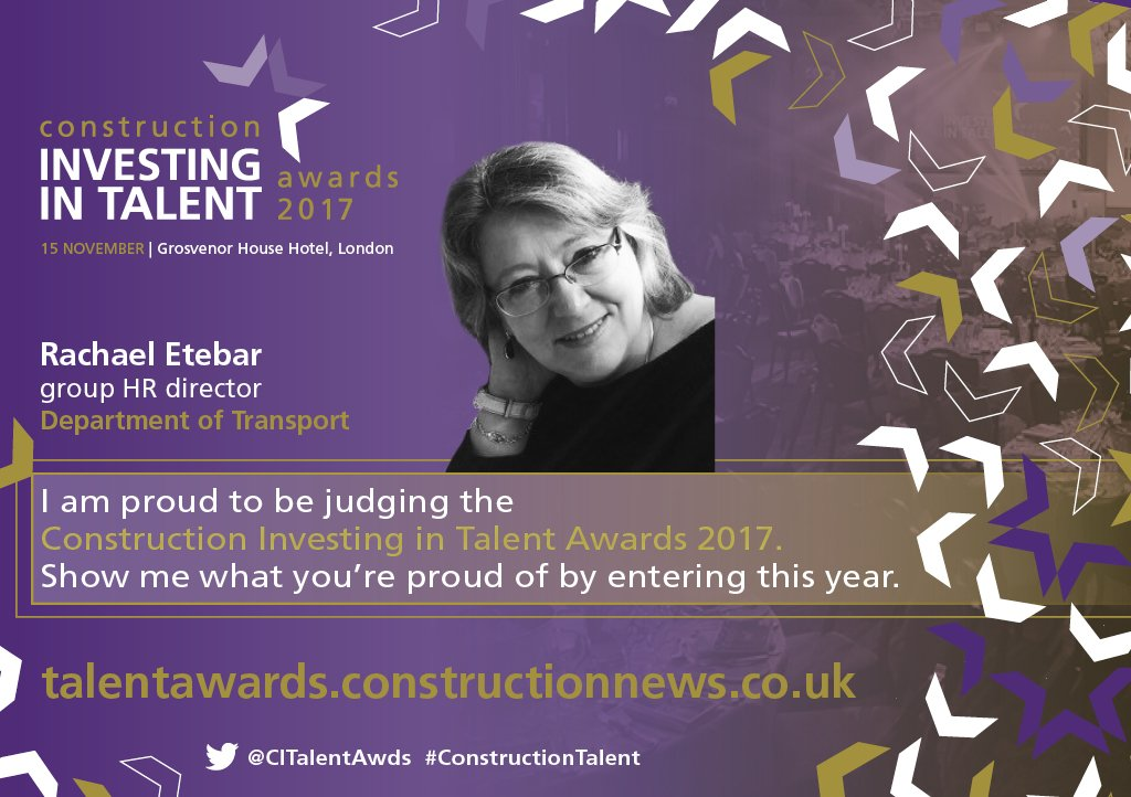 Cn Talent Awards On Twitter Rachael Etebar From Department Of Transport Is Judging This Year S Constructiontalent Awards Https T Co Xe4fjon5sl Https T Co Vecnyvkows