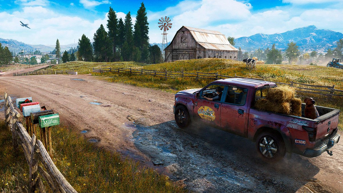 Pack your bags, we're headed to Hope County. First Far Cry 5 details &...