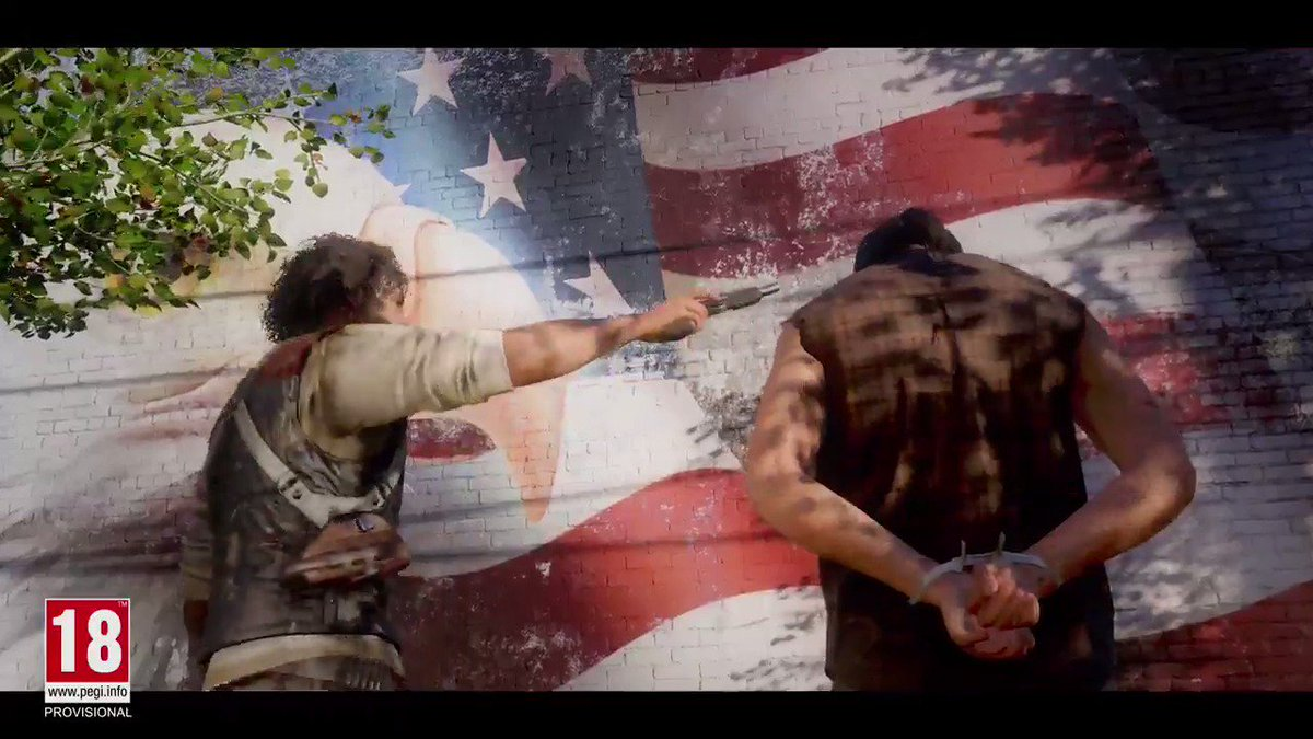 Here's the bullet-ridden, bear-chasing, rootin-tootin reveal trailer f...