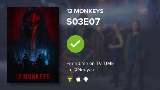 Acabo de ver el episodio S03E07 de 12 Monkeys #12monkeys  https://t.co...