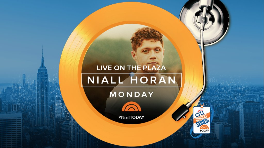 Kick off Memorial Day on the Plaza with @NiallOfficial on the Citi Con...