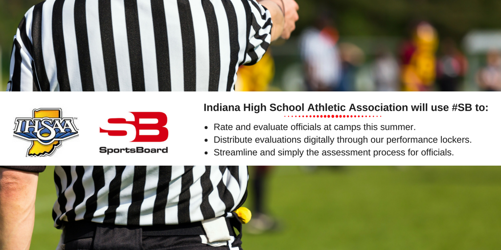 SportsBoard and @IHSAA1 partner for officiating camps this summer!  (BLOG)  http:// bit.ly/2r54pqB  &nbsp;    #Referees #Officials #TeamSB<br>http://pic.twitter.com/NtJz8hFjWP