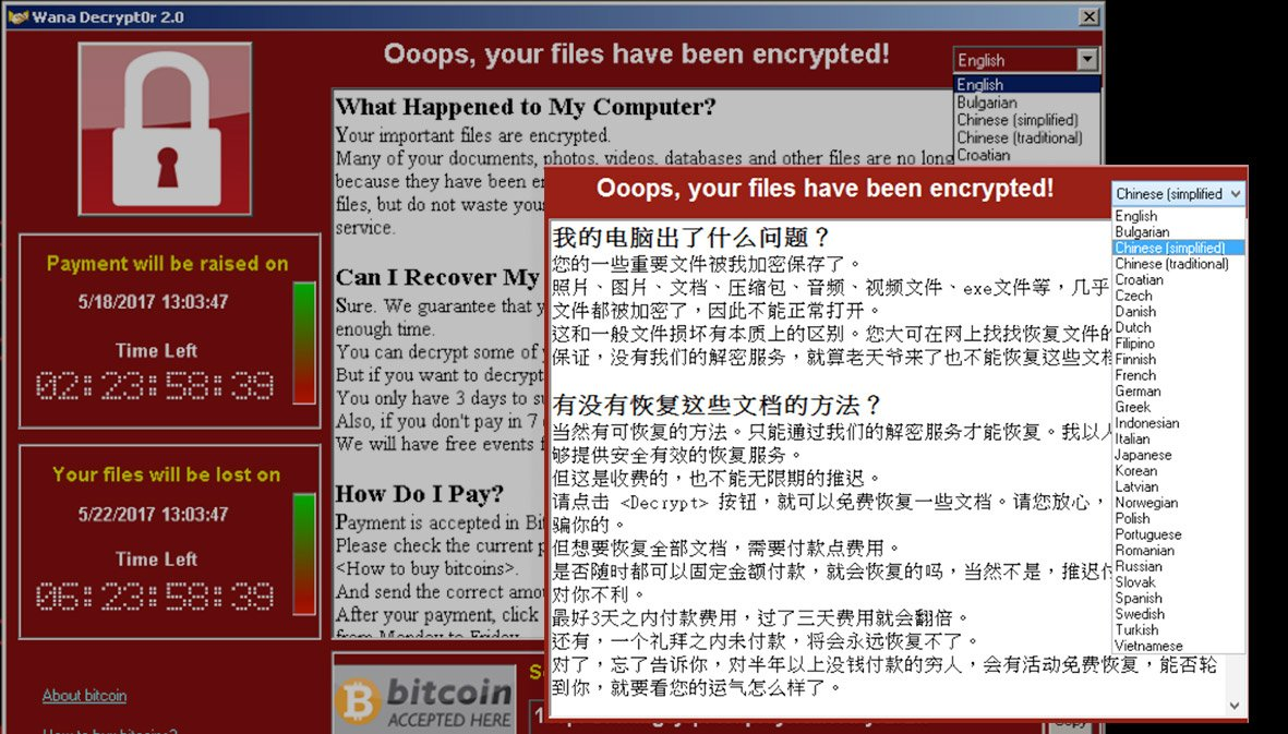 WannaCry&#39;s ransom note: great Chinese, not-so-hot Korean  http:// bit.ly/2rou2DI  &nbsp;   @FlashpointIntel @ProfWoodward #attribution #DPRK<br>http://pic.twitter.com/6uXp8V6elB